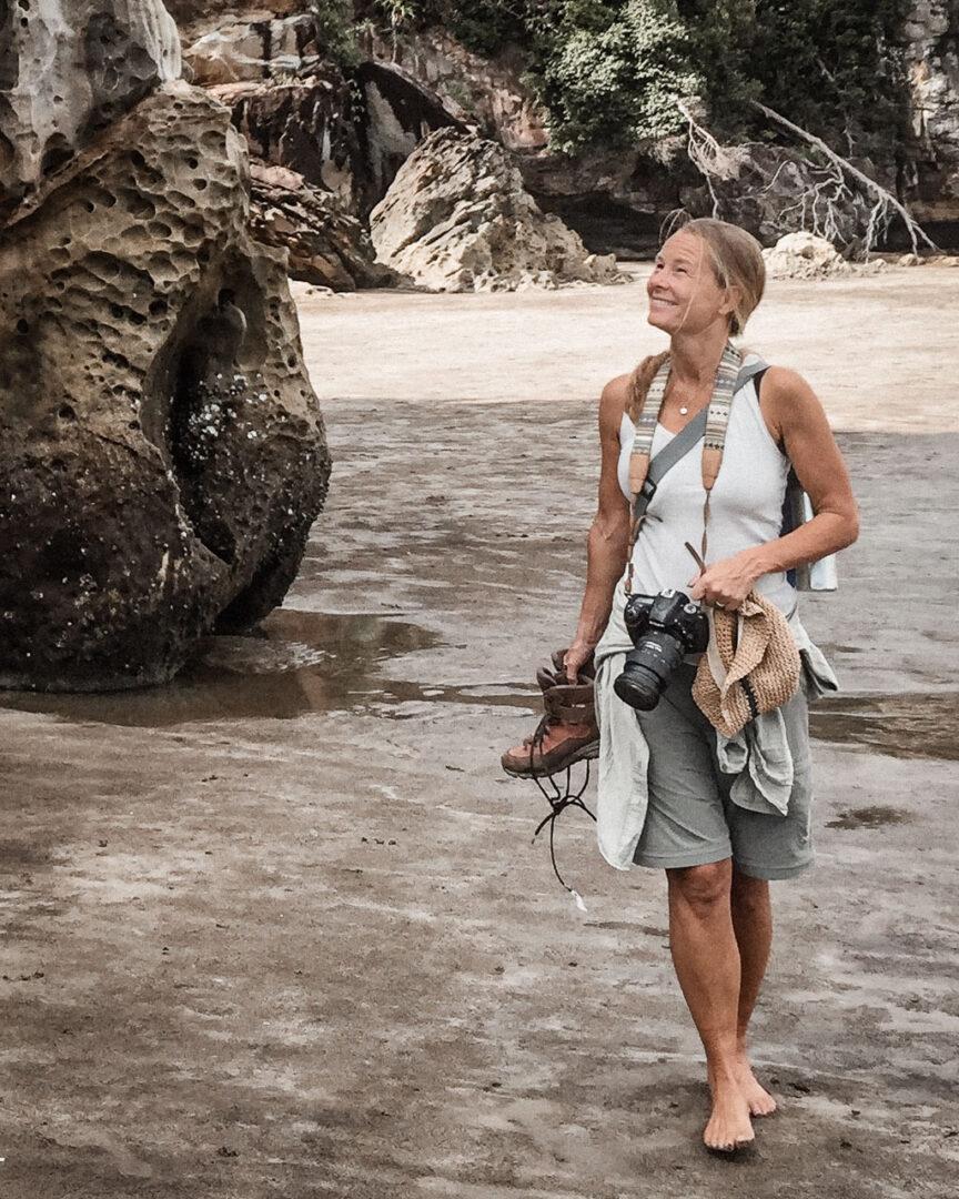 På vandring i Bako National Park