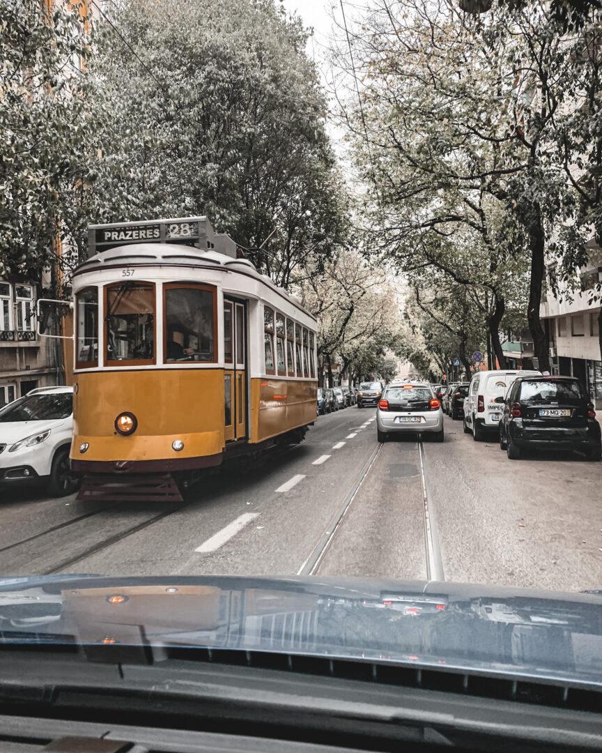 Spårvagn i Lissabon