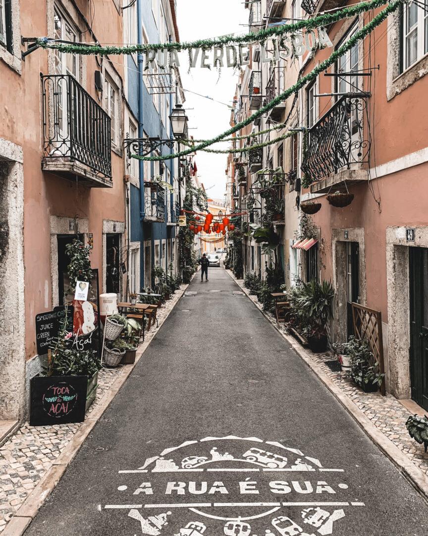 Rua Verde, Lissabon