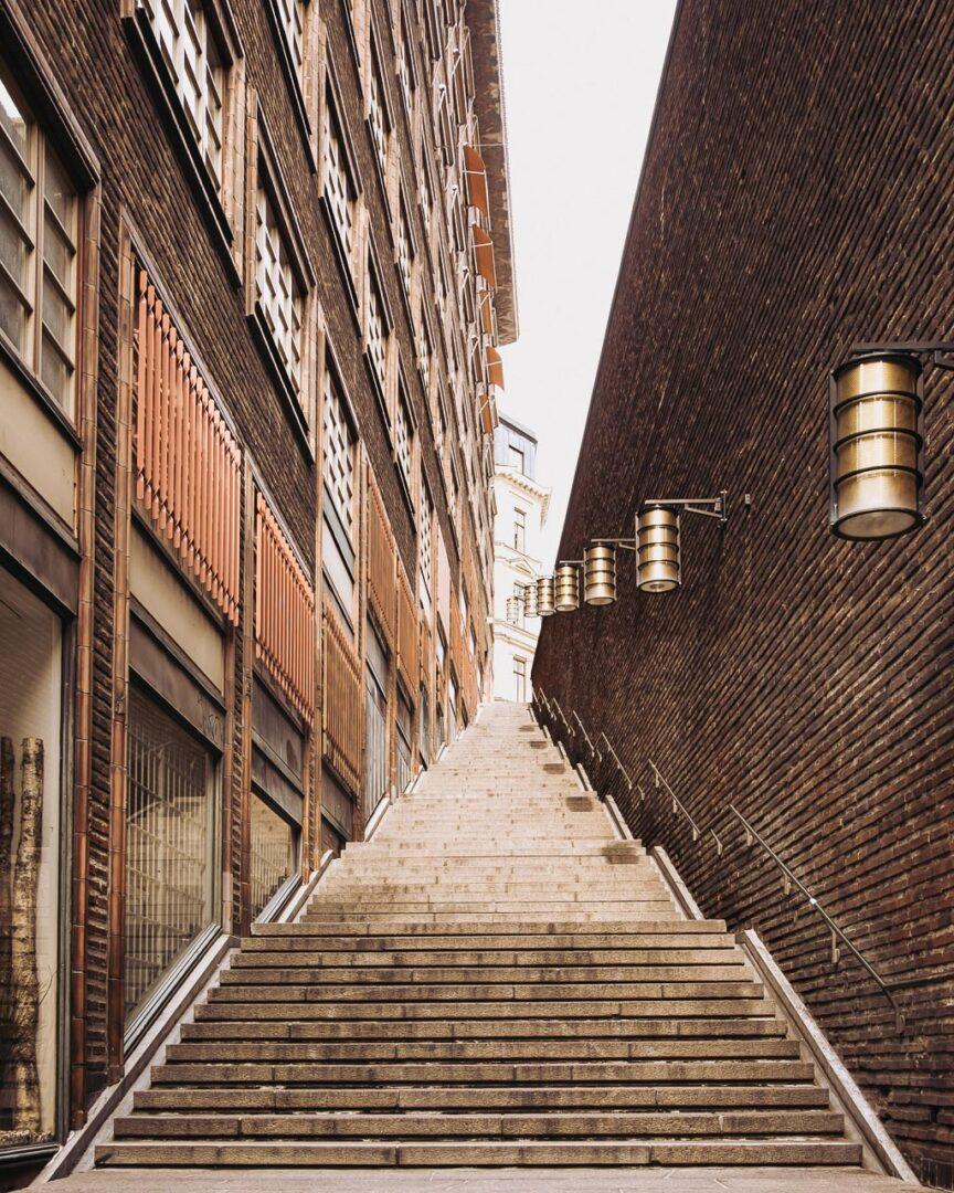 Instagramvänliga platser Stockholm, Centrum, Malmskillnadstrappan