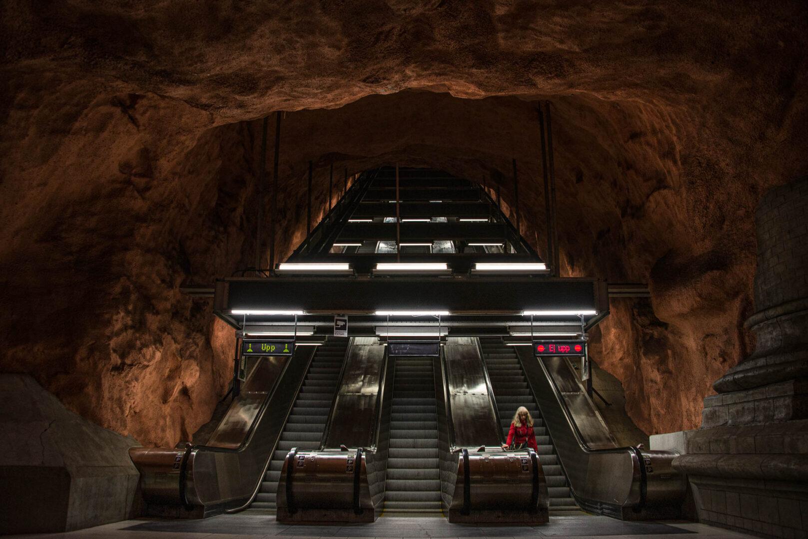 Instagramvänliga platser Stockholm, Centrum, Kungsträdgårdens tunnelbanestation
