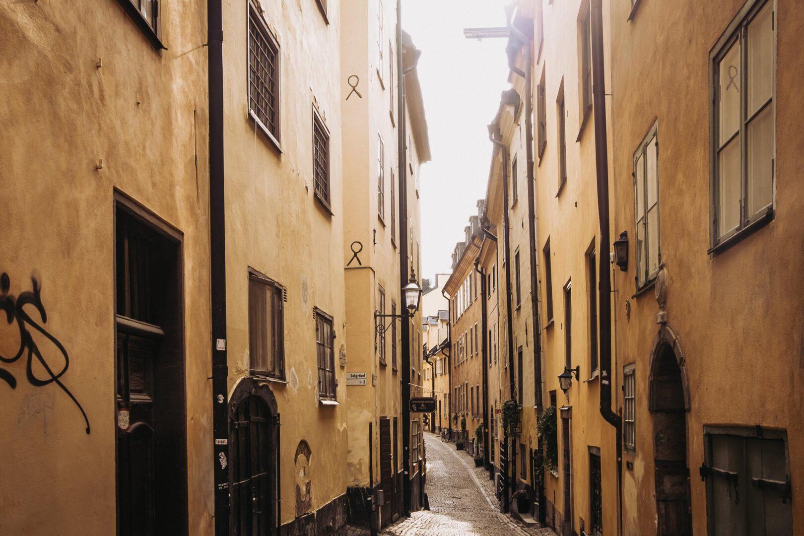 Instagramvänliga platser Stockholm, Gamla stan, Prästgatan