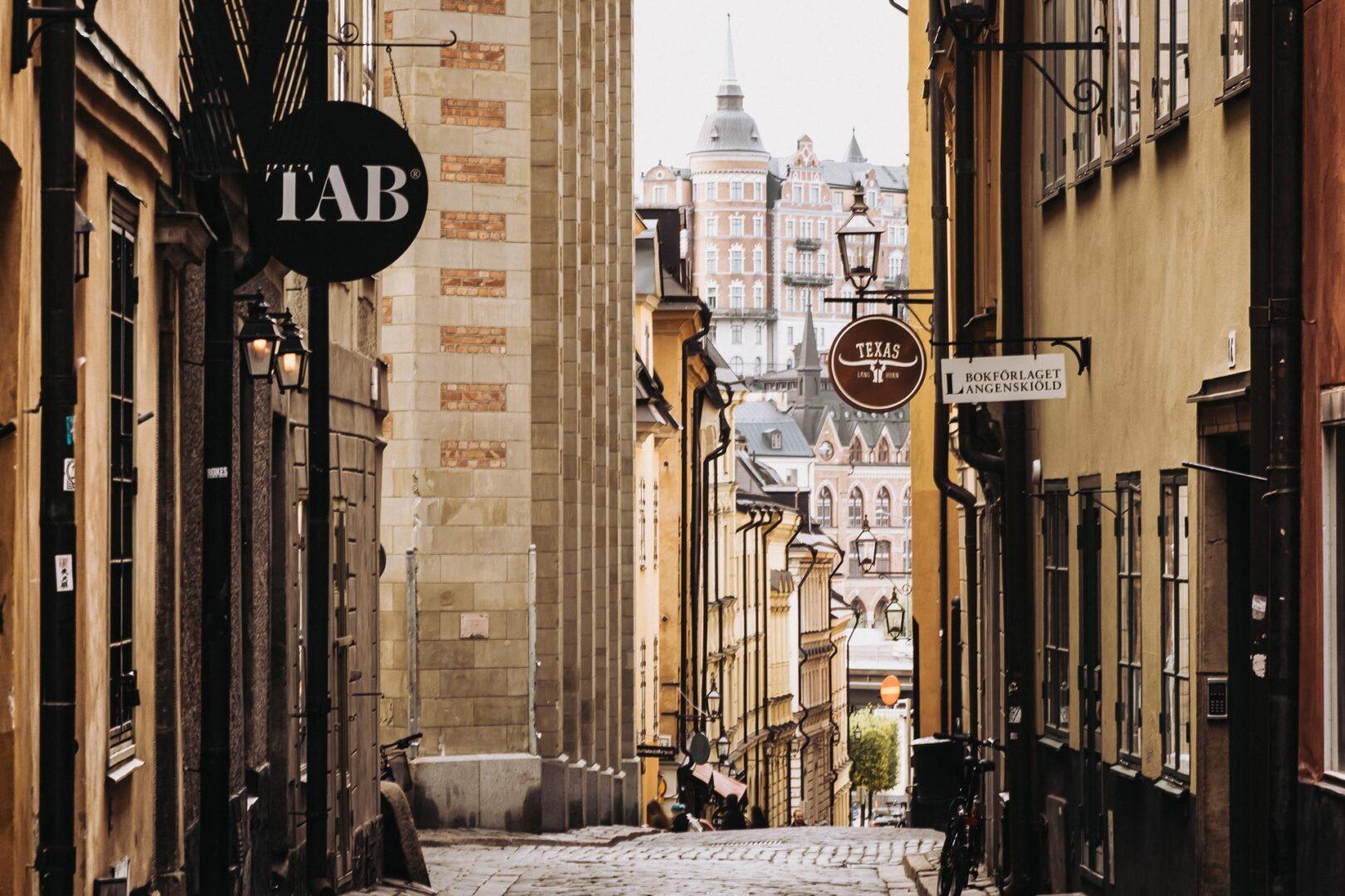 Instagramvänliga platser Stockholm, Gamla stan, Tyska Brinken