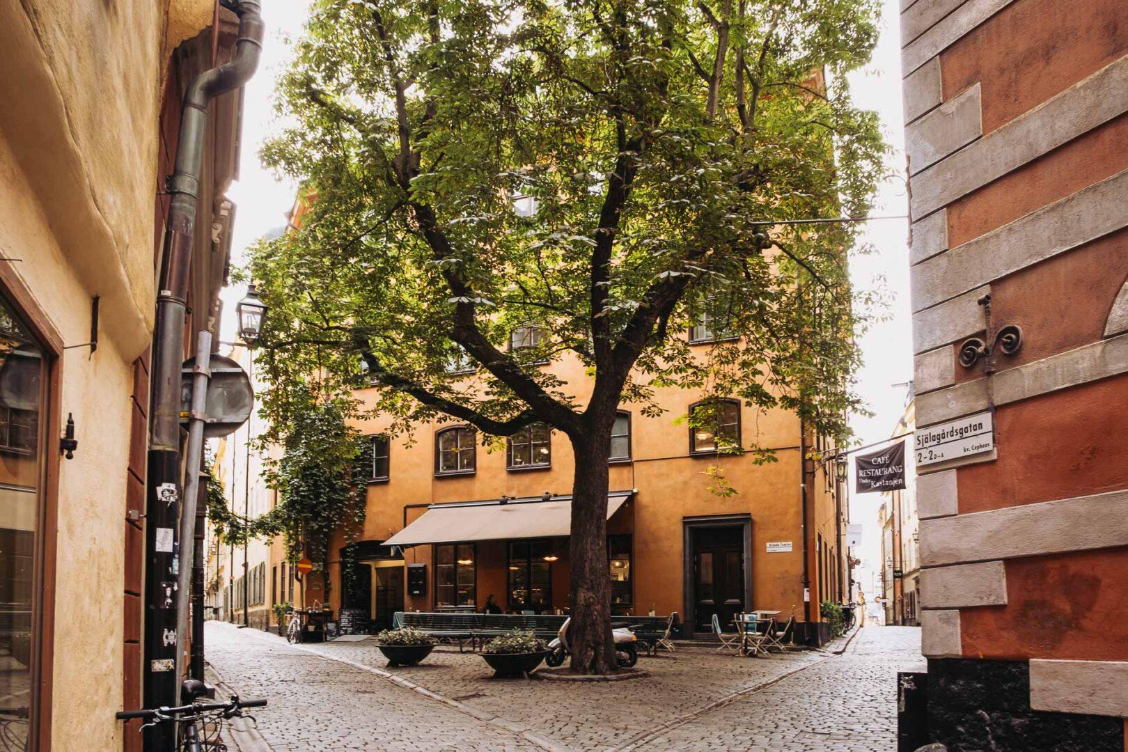 Instagramvänliga platser Stockholm, Gamla stan, Brända tomten