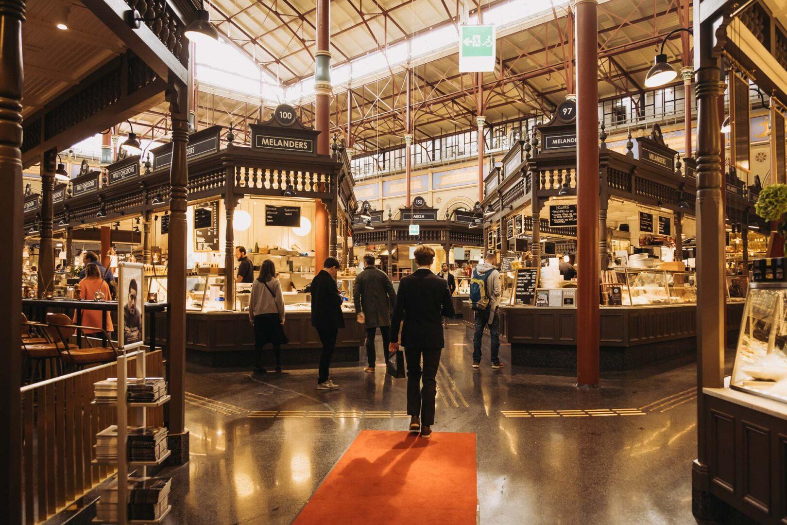 Instagramvänliga platser Stockholm, Östermalm, Östermalmshallen