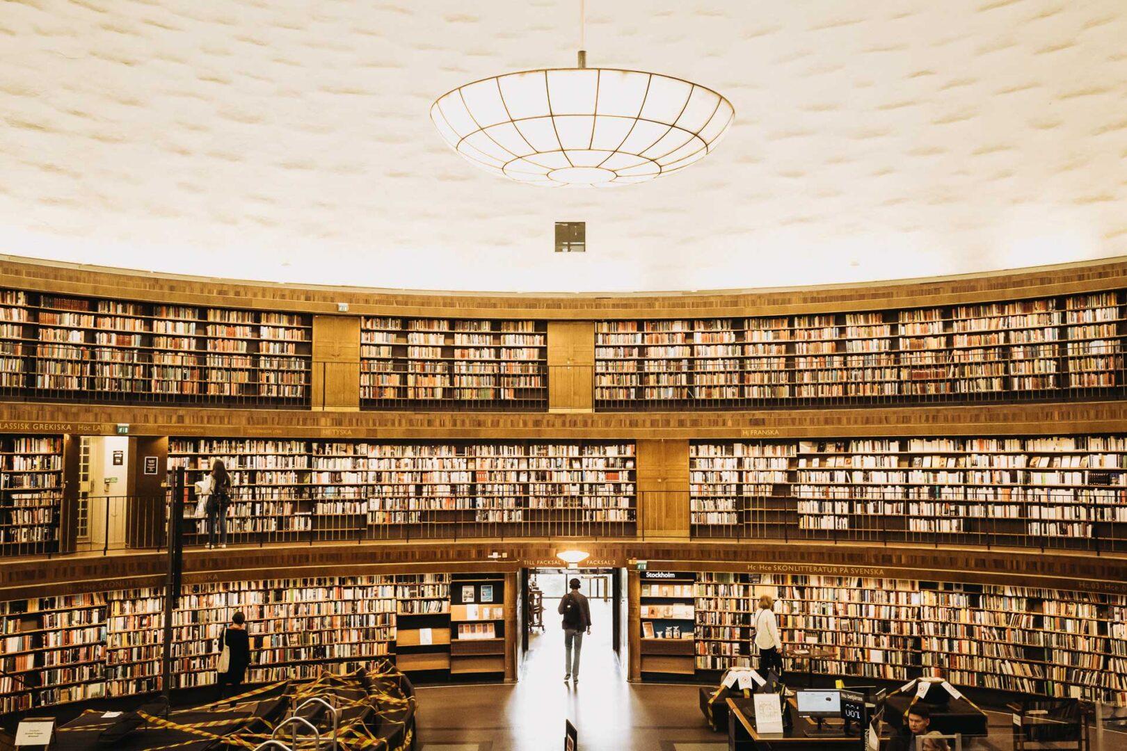 Instagramvänliga platser Stockholm, Vasastan, Stadsbiblioteket