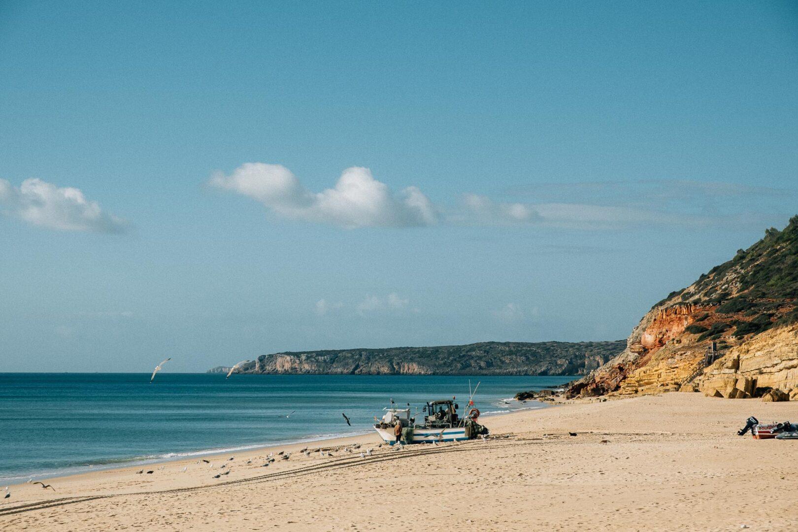 Praia da Salema en klar favorit