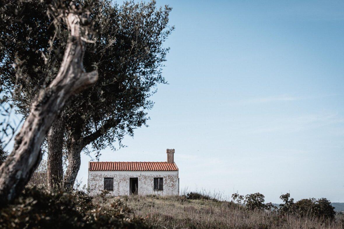 Övergivna hus i Portugal
