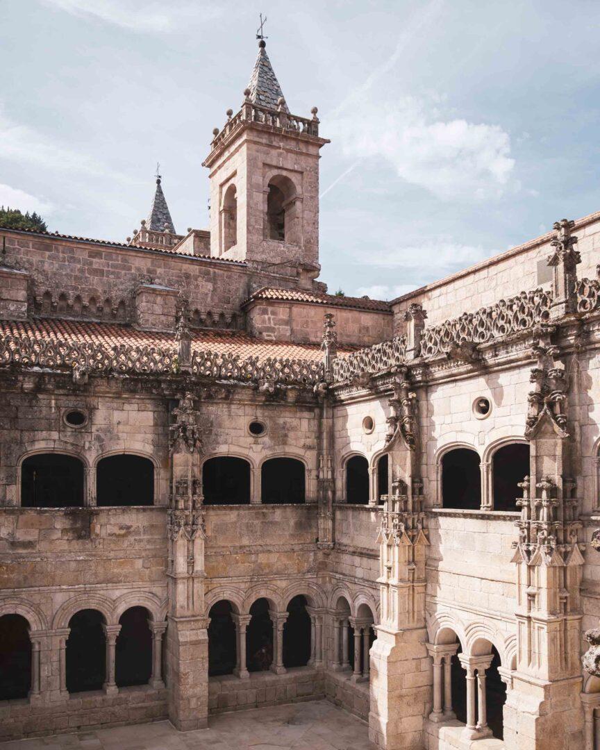 nordvästra Spanien, Monastery of Santo Estevo de Ribas de Sil