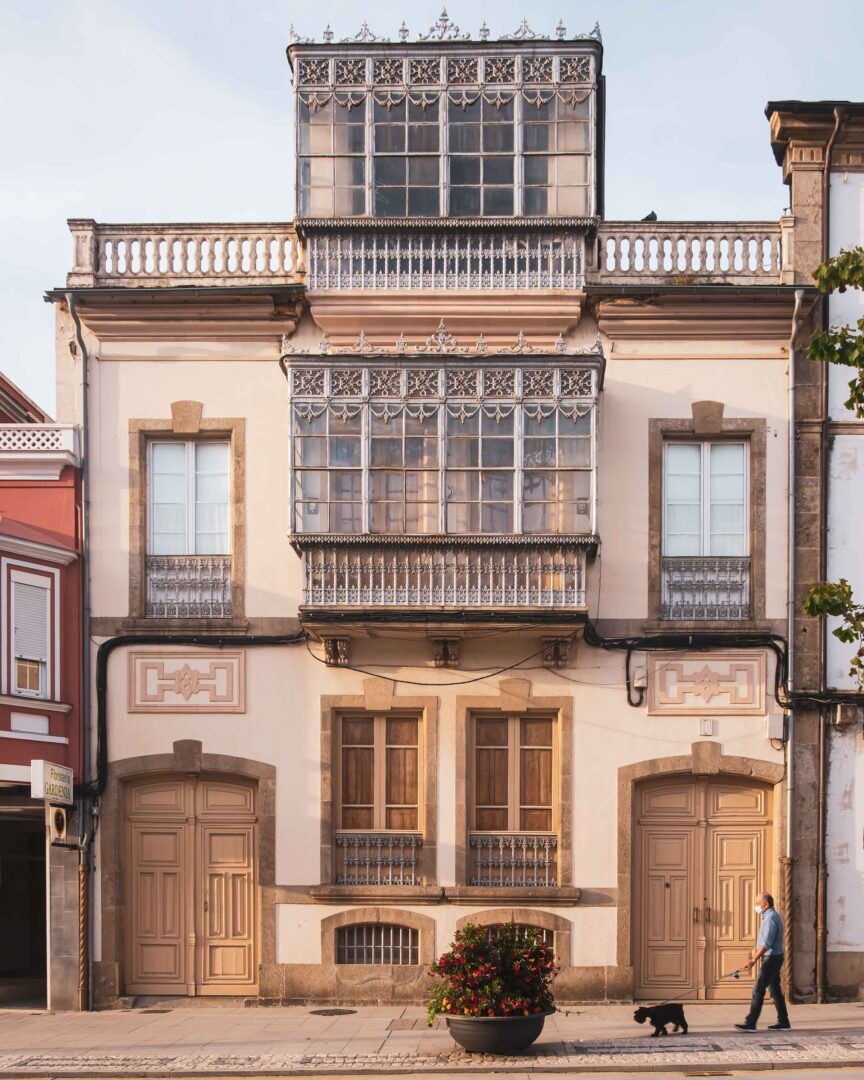 nordvästra Spanien, Ribadeo