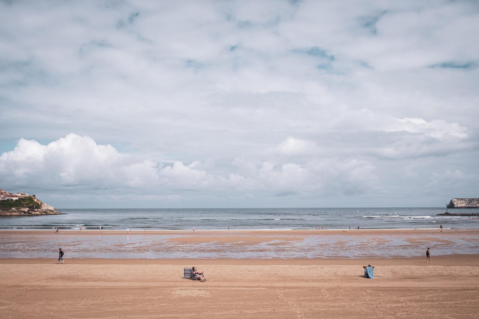 nordvästra Spanien, Santillana de Mar, Playa de la Concha